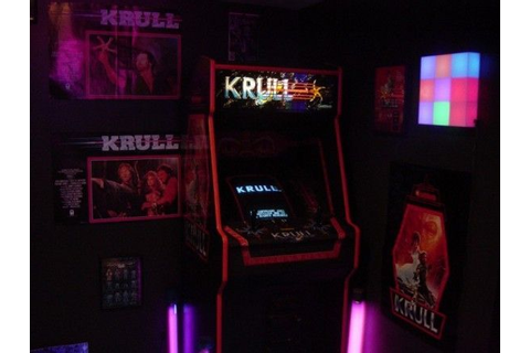 KRULL Arcade Game 80's | Gaming! | Arcade game machines ...