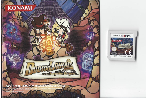 Doctor Lautrec and the Forgotten Knights for Nintendo 3DS ...