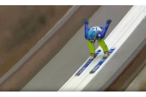 Winter Olympics 2018: WATCH Ski jump crash from Chang ...