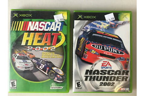 ⭐️Microsoft XBOX Original Game Bundle - Nascar Heat 2002 ...