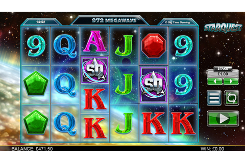 Star Quest: Play to the Big Time Gaming slot machine