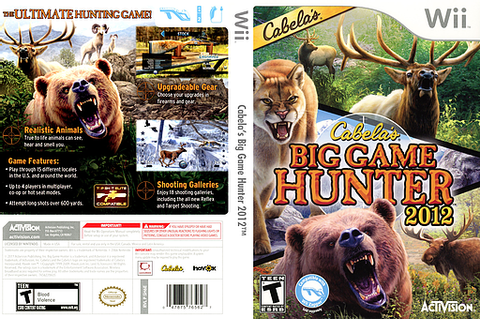 SH6E52 - Cabela's Big Game Hunter 2012