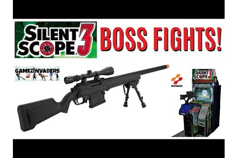 SILENT SCOPE 3 BOSS FIGHTS! All Bosse's From Konami's ...