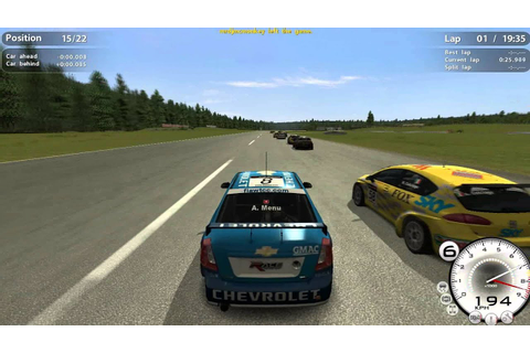 GTR Evolution My First Game Play MultiPlayer - YouTube