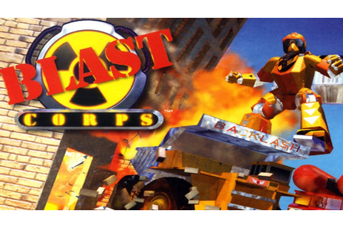Blast Corps is locked in time, but what a time it was ...