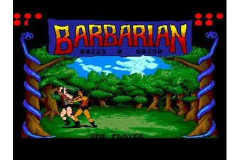 Barbarian - Amiga version decapitation - YouTube