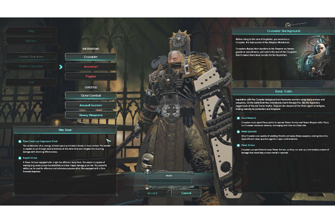 Warhammer 40,000: Inquisitor Martyr - Look at the Alpha ...