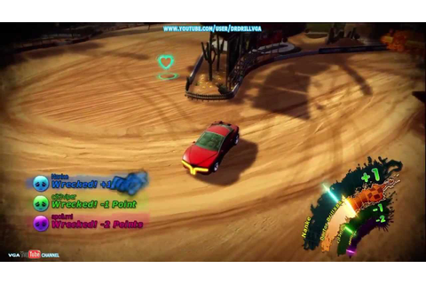 Wrecked Revenge Revisited Gameplay XBLA - YouTube