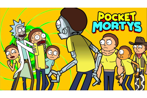 POCKET MORTYS 1st Hour + Gameplay ★ NEW Rick & Morty Game ...