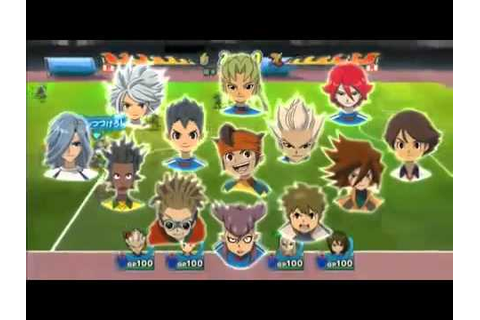 Inazuma Eleven Strikers - Trailer 2 - Wii - YouTube