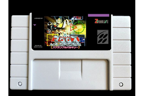 Super Dimension Fortress Macross: Scrambled Valkyrie SNES ...
