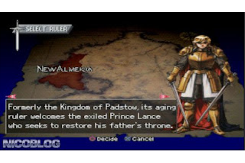 Brigandine Grand Edition PSP (English Patched) Download
