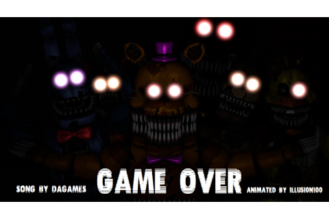 [SFM FNAF 4 SONG] Game Over [FULL] - YouTube