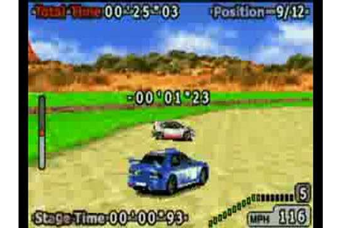GBZ Gameplay - GT Advance 2 Rally Racing (GBA) - YouTube