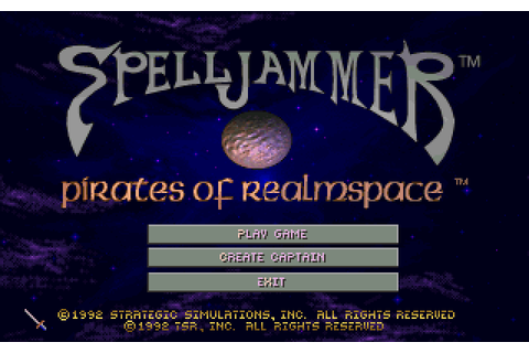 SpellJammer: Pirates of Realmspace (1992) by Cybertech ...