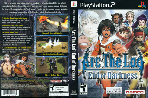 Zona Torrent Game: Arc The Lad End Of Darkness (ISO) [PS2 ...