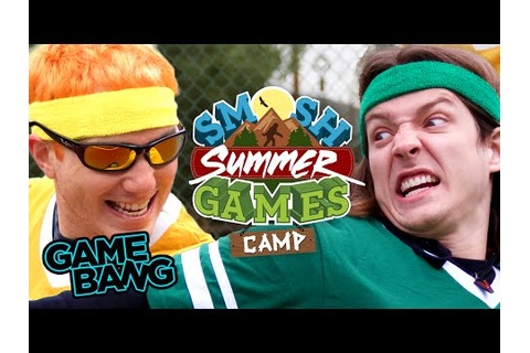 SUMMER GAMES: CAMP BEGINS (Smosh Summer Games) - YouTube