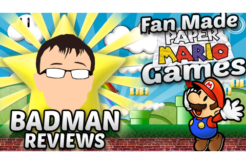 Fan Made Paper Mario Games - Badman - YouTube