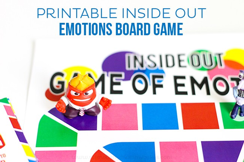 Printable Inside Out Emotions Board Game - Printable Crush