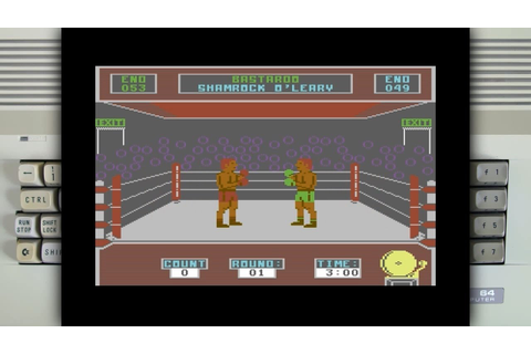Barry McGuigan World Championship Boxing on the Commodore ...
