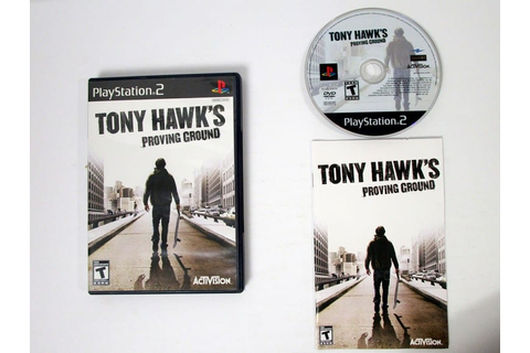Tony Hawk Proving Ground game for Playstation 2 (Complete ...