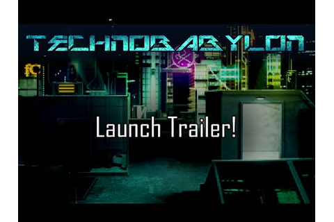 Technobabylon - A Cyberpunk Adventure Game - YouTube