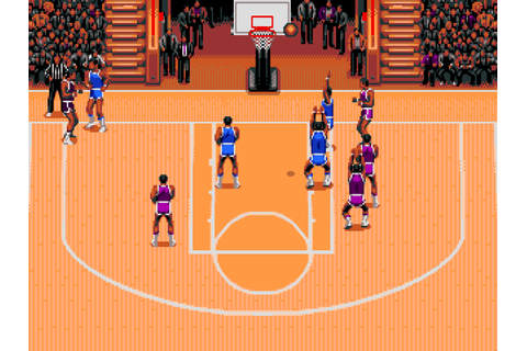 TV Sports: Basketball - The Company - Classic Amiga Games
