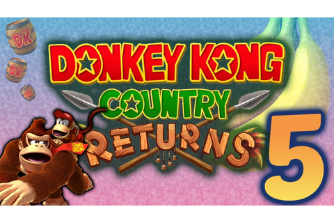 Donkey Kong Country Returns: Killer game theory! - PART 5 ...