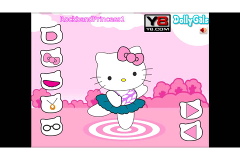 Hello Kitty Online Games Hello Kitty Dancing Dressing ...
