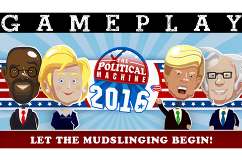 The Political Machine 2016 (HD) PC Gameplay - YouTube