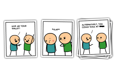 Cyanide And Happiness Introduces Their Card Game to ...