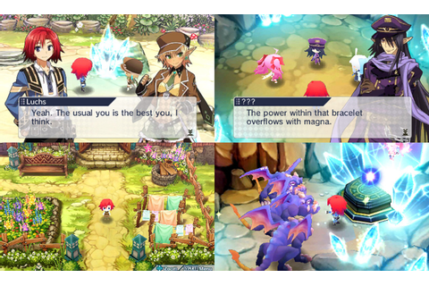Lord of Magna Maiden Heaven Gameplay Screenshot 3DS Spyro ...