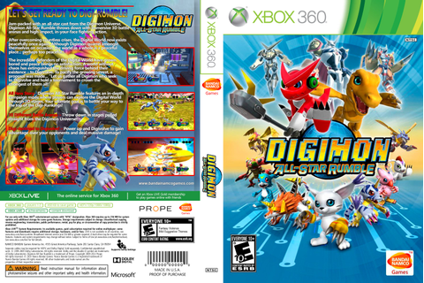 DIGIMON ALL-STAR RUMBLE – XBOX 360 - THE GAMES