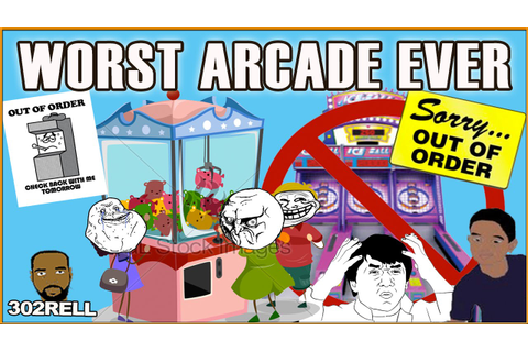 Worst Arcade Ever Lol - More Out Of Order Than Working ...