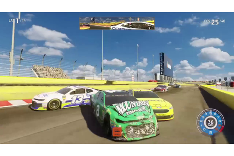 NASCAR Heat 3 Crash Compilation (Funny Moments, Glitches ...