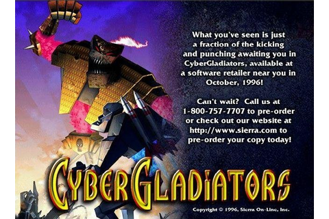 CyberGladiators - PC Review and Full Download | Old PC Gaming