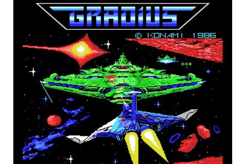 Gradius - Arcade mod | MSX Resource Center
