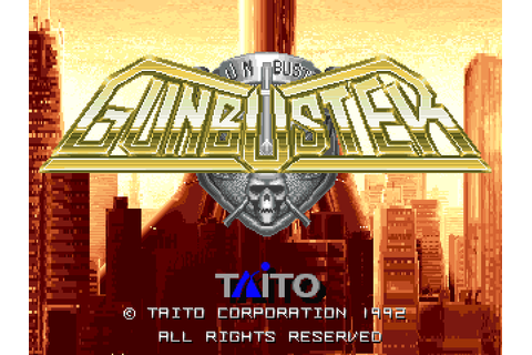 Gunbuster (1992) by Taito Arcade game