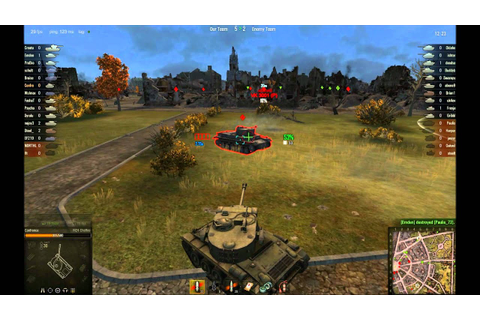 M24 Chaffee World of Tanks Gameplay - YouTube