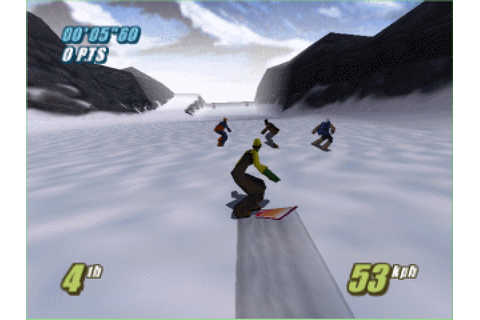 Twisted Edge Extreme Snowboarding (1998) by Boss Game ...