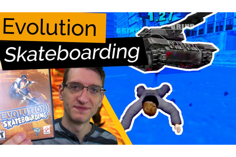 A Skateboarding Game With Boss Fights? Evolution ...