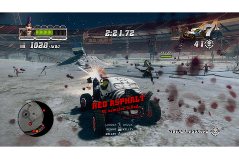 Blood Drive Hits PS3 Tuesday, Car Combat with Zombies ...