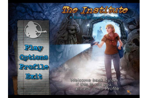 The Institute - A Becky Brogan Adventure | GameHouse