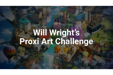 Will Wright partners with Unity to announce the Proxi Art ...