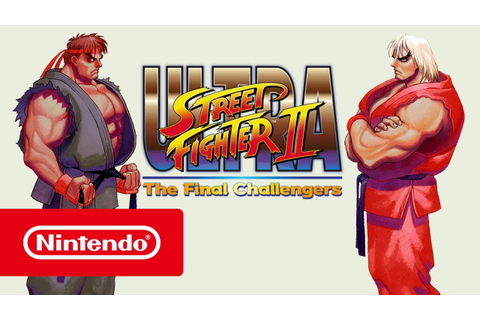 ULTRA STREET FIGHTER II: The Final Challengers! - Bande ...