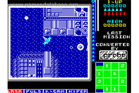 The Last Mission - Sinclair ZX Spectrum - Games Database