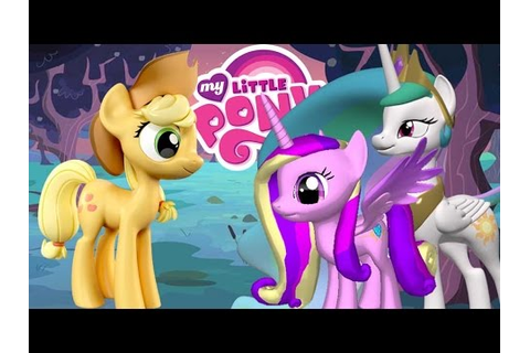 My Little Pony 3D Creator Fun Game (Applejack) - YouTube