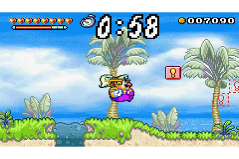 Videotest Wario Land 4 [GBA] - YouTube