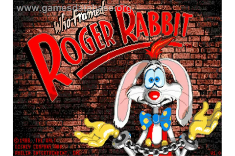 who framed roger rabbit 1991 video game wikipedia the who ...