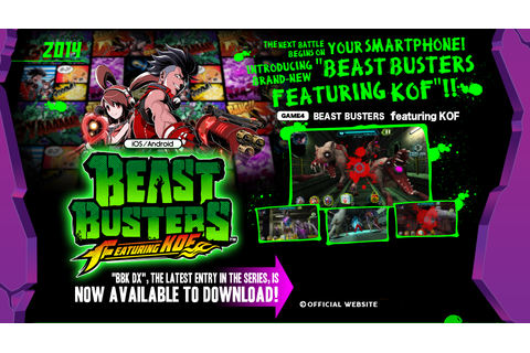 BEAST BUSTERS featuring KOF|BEAST BUSTERS OFFICIAL WEB ...
